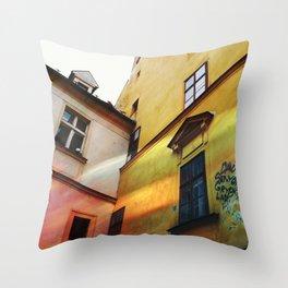 bratislava, slovakia  Throw Pillow