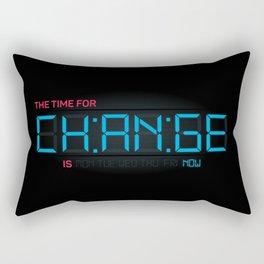 CH:AN:GE Rectangular Pillow