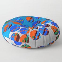 Bubbes Blues Floor Pillow