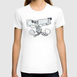Vertical Weight Lifter T-shirt