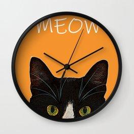 MEOW2 Wall Clock