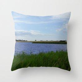 Bjarred Bay View  Throw Pillow