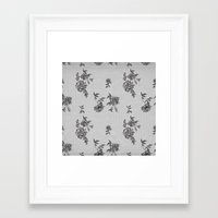 wallpaper Framed Art Prints featuring WallpAper by  Wiipo