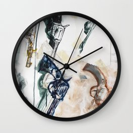 From Rocks to Rockets Wall Clock