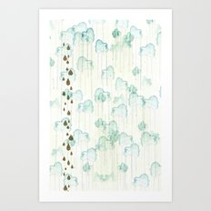 Looks Like Rain Art Print