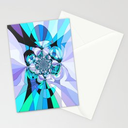 in heaven (blue) Stationery Cards
