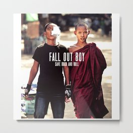 fal out boy Save Rock and Roll Metal Print