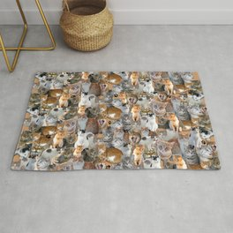 Cats meeting point Rug