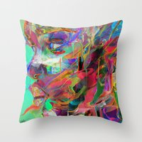 balance Throw Pillows featuring Balance by Archan Nair