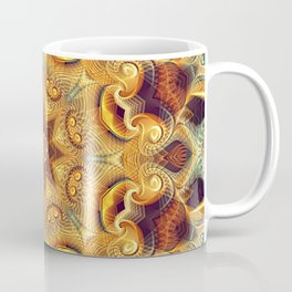 Flower Of Life Mandala (Native Roots) Coffee Mug