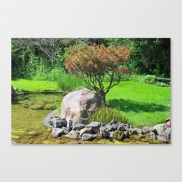 Working in Sync Canvas Print