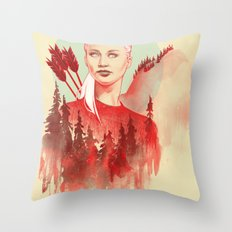 The Games Throw Pillow