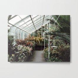 Volunteer Park Conservatory A-Side Metal Print