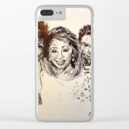 Windy City Live Clear iPhone Case