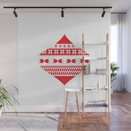 Christmas is red Wall Mural