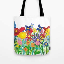 Flowery Bouquet Tote Bag