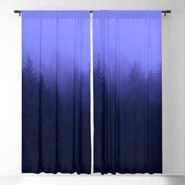Periwinkle Fog 0367 - Seward, Alaska Blackout Curtain