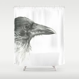 Deeper Into the Forest Shower Curtain