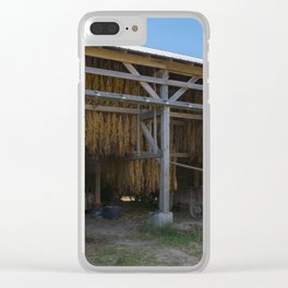 Amish Barn Clear iPhone Case