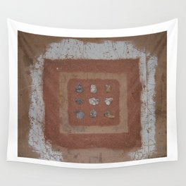 Stones and Sawdust Wall Tapestry