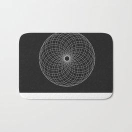 Circle Spirograph Bath Mat
