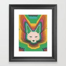 Fannec Fox Framed Art Print
