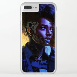 Cool cyborgs dnt look at Xplosions Clear iPhone Case