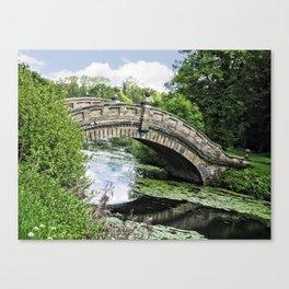 The Chinese Bridge Canvas Print