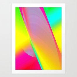 Rainbow series I Art Print