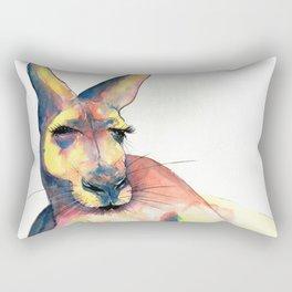 Kangaroo Study 120218 Rectangular Pillow