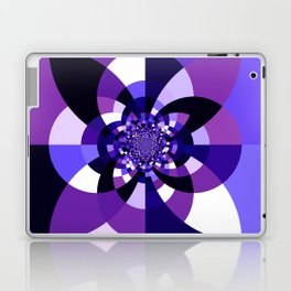 Purple Kaleidoscope Mandala Laptop & iPad Skin