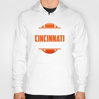 cincinnati Hoodies featuring Its A Cincinnati Thing by Jacob Tyler FX
