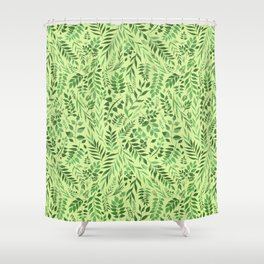 Lemongrass (Essential Oil Collection) Shower Curtain