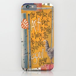 Art and Soul iPhone Case