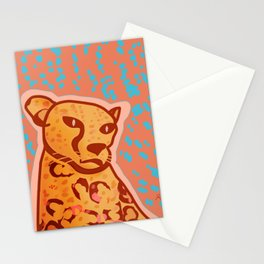 Melancholic Days, Cheetah Stationery Cards