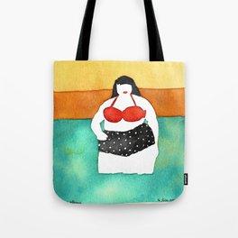 Cherry Stems Tote Bag