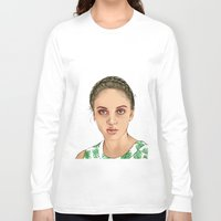 venus Long Sleeve T-shirts featuring VENUS by Laura O'Connor