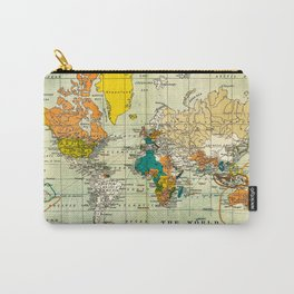 Map of the old world Carry-All Pouch