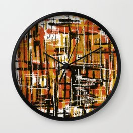 Matt Texture 1 Wall Clock