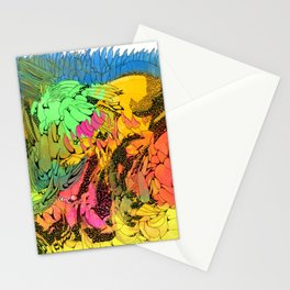 Neon Magic Stationery Cards