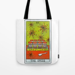The Spices  Baker's Tarot Tote Bag