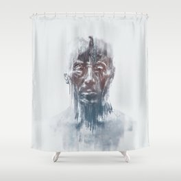 Portret 008 Shower Curtain