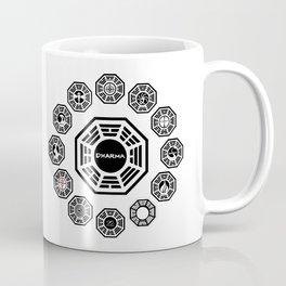 Lost Dharma Stations Coffee Mug