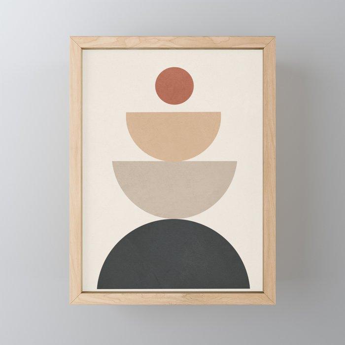Geometric Modern Art 31 Framed Mini Art Print