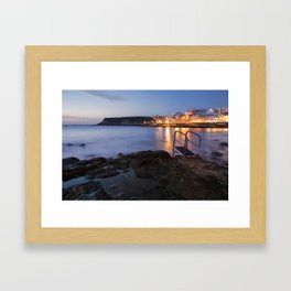 Canarian evenings Framed Art Print