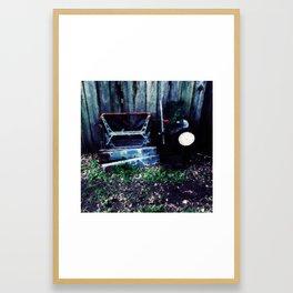 Broken machinery Framed Art Print