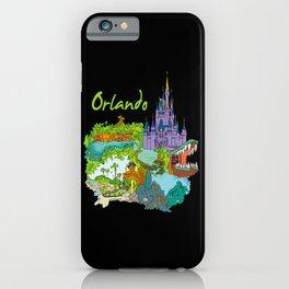 Orlando USA iPhone Case