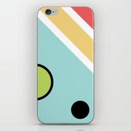 Chatty spaceship iPhone Skin
