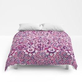 sun floral paisley colorful Comforters