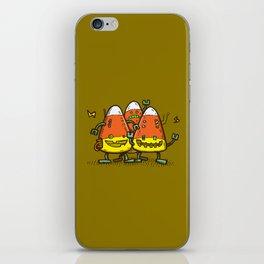 Candy Corn Bots iPhone Skin